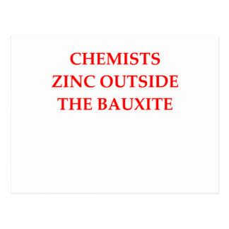 Cartão Postal química