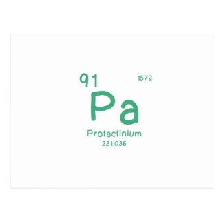 Cartão Postal Química do hipster