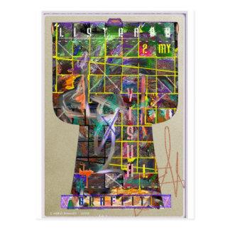 Cartão Postal Quimono dos grafites