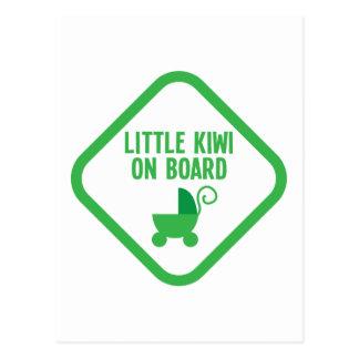 Cartão Postal QUIVI pequeno a bordo de Nova Zelândia