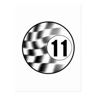 Cartão Postal Racecar #11