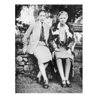 Cartão Postal Radclyffe Hall e Una Vincenzo