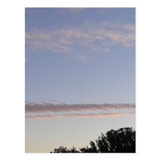 Cartão Postal Raia da nuvem