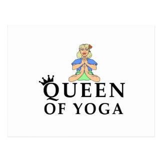 Cartão Postal rainha da ioga