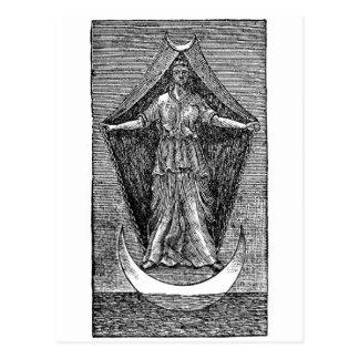 Cartão Postal Rainha de revelacão do céu