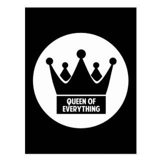 Cartão Postal Rainha de tudo