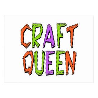 Cartão Postal Rainha do artesanato