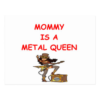 Cartão Postal Rainha do METAL