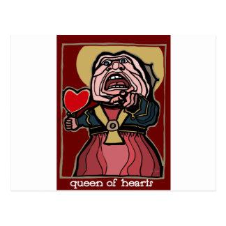 Cartão Postal Rainha dos corações