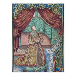 Cartão Postal Rainha Elizabeth mim na oração, frontispiece