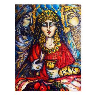Cartão Postal Rainha Esther