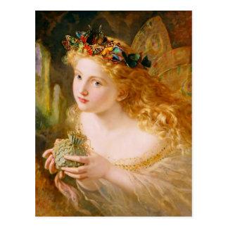 Cartão Postal Rainha feericamente