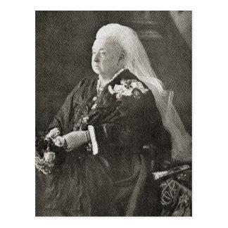 Cartão Postal Rainha Victoria c.1899