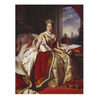 Cartão Postal Rainha Victoria: Coroação