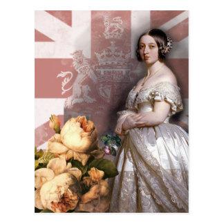 Cartão Postal Rainha Victoria do vintage