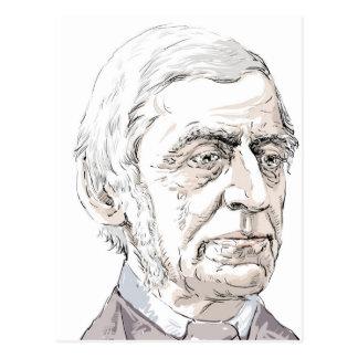 Cartão Postal Ralph Waldo Emerson