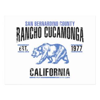 Cartão Postal Rancho Cucamonga