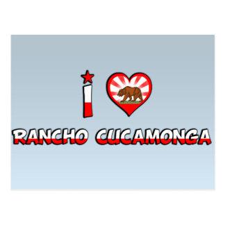 Cartão Postal Rancho Cucamonga, CA