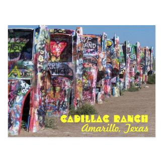 Cartão Postal Rancho do cadillac