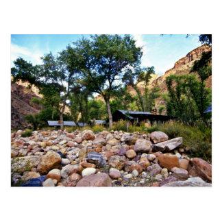 Cartão Postal Rancho fantasma - parque nacional do Grand Canyon