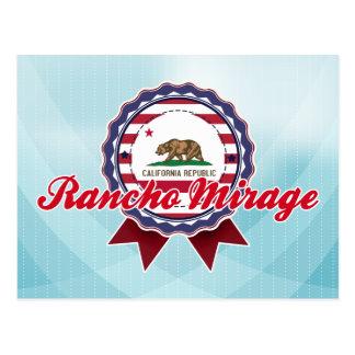 Cartão Postal Rancho Mirage, CA