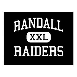 Cartão Postal Randall - incursores - segundo grau - Amarillo