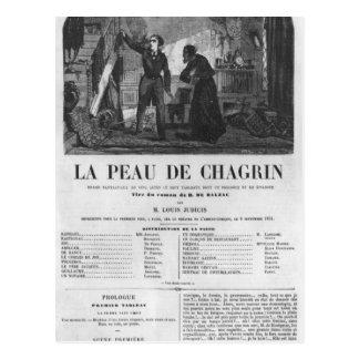 Cartão Postal Raphael de Valentin e comerciante