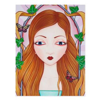 Cartão Postal Rapunzel