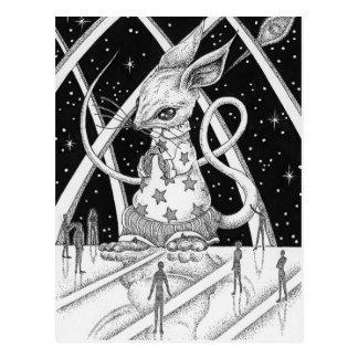 Cartão Postal Rato da estrela