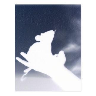 Cartão Postal Rato da sombra