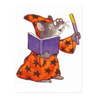 Cartão Postal Rato do feiticeiro