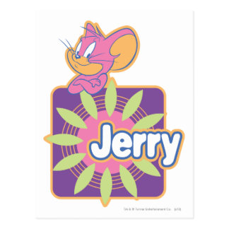 Cartão Postal Rato do néon de Jerry