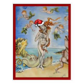 Cartão Postal Re-Nascimento do hipster de Venus