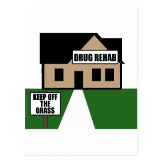 Cartão Postal Reabilitação da droga
