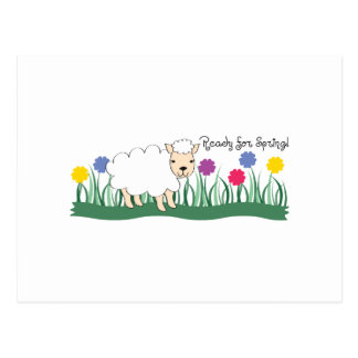 Cartão Postal Reachy para o primavera!