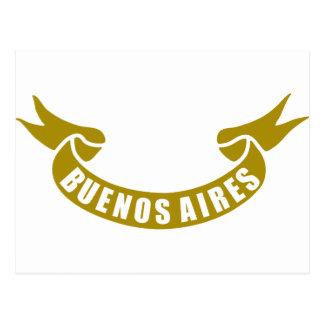 Cartão Postal real-fita-Buenos-Aires