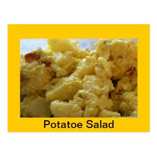 Cartão Postal Receita da salada de batata