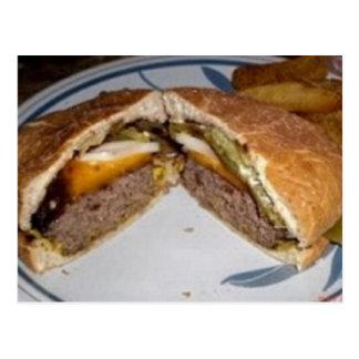 Cartão Postal Receita Sauced cerveja dos hamburgueres