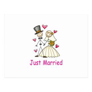 Cartão Postal Recem casados