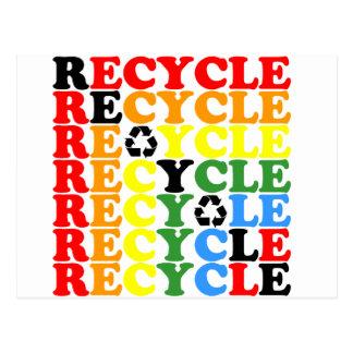 Cartão Postal Reciclar