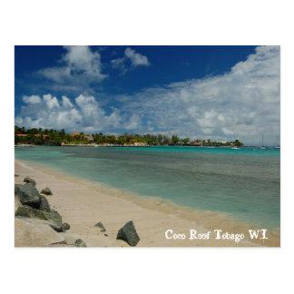 Cartão Postal Recife Tobago W.I. dos Cocos