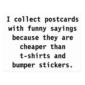 Cartão Postal Recolha