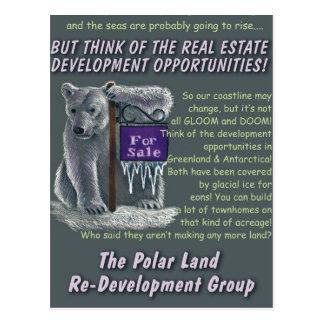 Cartão Postal Reconstrução de Polarland