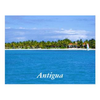Cartão Postal Recurso de Antígua