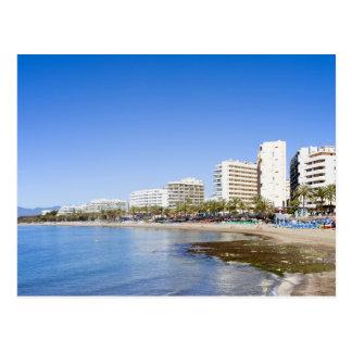 Cartão Postal Recurso de férias de Marbella na espanha