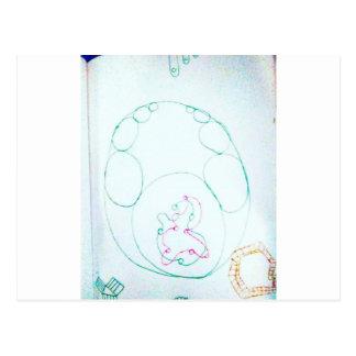 Cartão Postal Rede de um Sengaku knotty