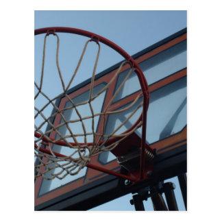 Cartão Postal Rede do basquetebol