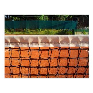 Cartão Postal Rede do tênis