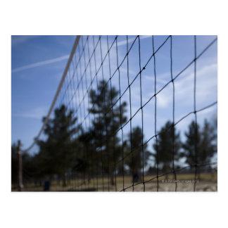 Cartão Postal Rede do voleibol