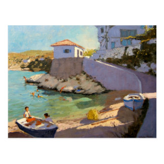 Cartão Postal Redes de pesca Samos 2005